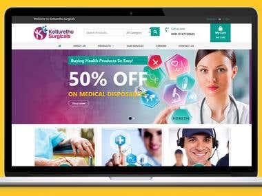 Ecommerce - Kottueth Surgicals
