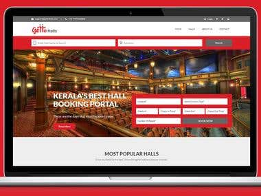 Gettohalls - Hall booking website
