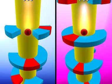 Helix Jump - 3D Ball arcade Game (Freelance)