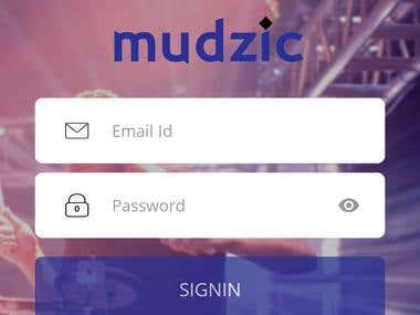 Mudzic(https://play.google.com/store/apps/details?id=com.ed)