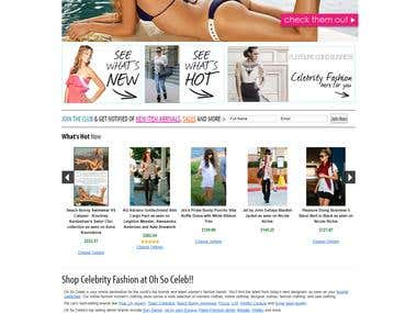BigCommerce :- www.ohsoceleb.com/