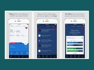 Fly Delta iPhone App for Delta Air Lines, Inc.