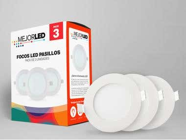 Packging Design - Mejor LED