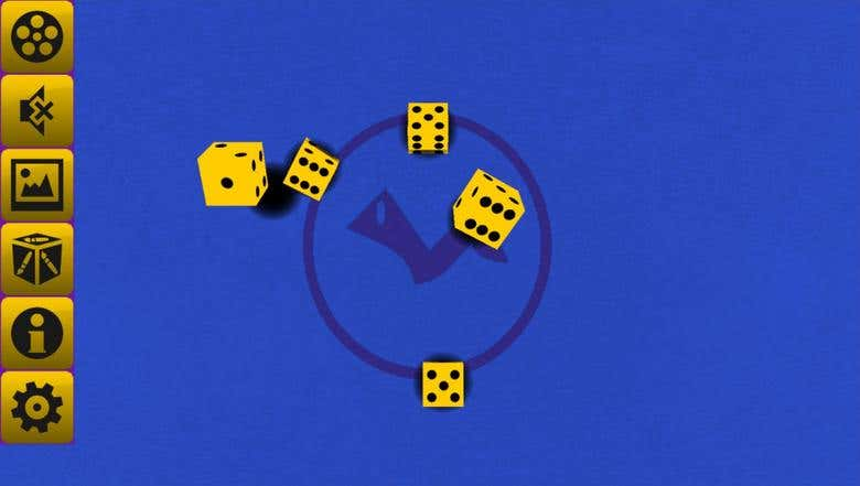 Crazy Virtual Dice 3D for Android and Blackberry | Freelancer