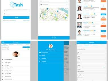 Service Provider Mobile App