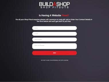 Build A Website Optin Page