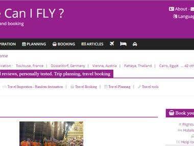 Travel website SEO