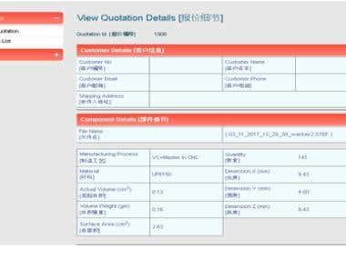 Machine Quotation Software