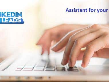 Virtual assistant, Web researcher, Data entry