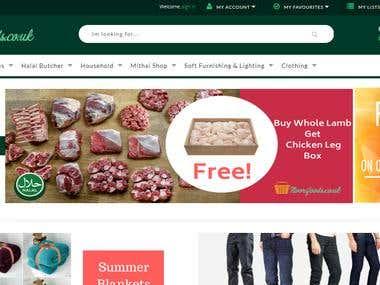 NooriFoods - Ecommerce Store