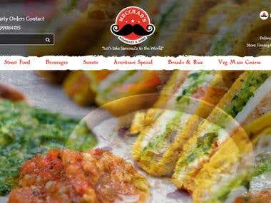 Food Delivery Website in Magento
