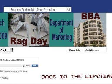 Banner for BBA completion ceremony
