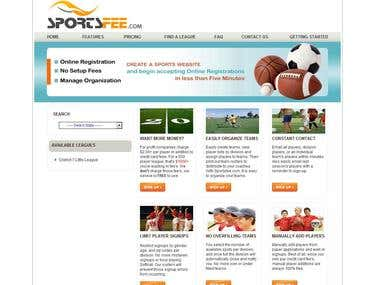 SportsFee Website