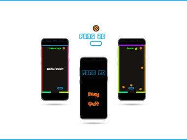 Pong 2D - Unity3d/Android Game