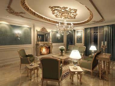 Classic interior design 01