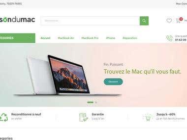 Magento 2 store - maisondumac.fr