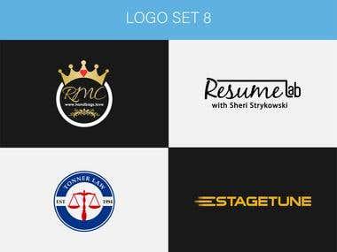 Logo Portfolio Set 8