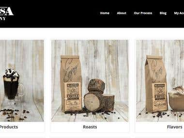 Mariposa Coffee Company | Magento 2.2.2