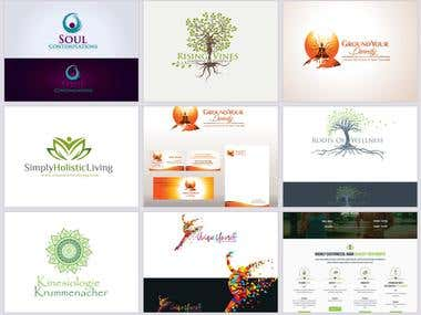 Holistic Health Coach Logo Projects