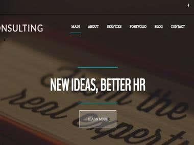 SPR Consulting Website