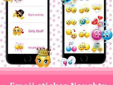 Emoji sticker - Naughty