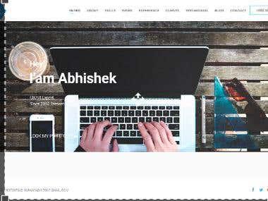 Kumar Abhi Web Portal Design Joomla
