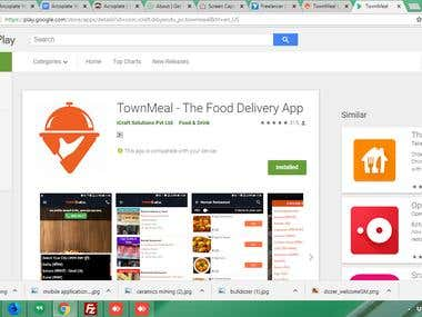 https://www.townmeal.in/(Android App)