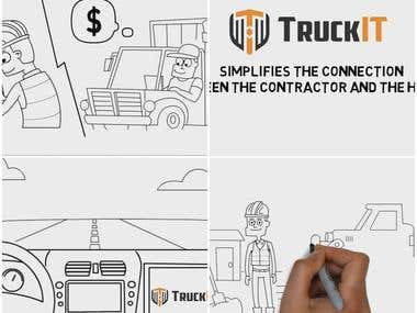 Trucking App Whiteboard - TruckIT