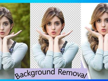Do Background Remove And Photo Shop Editing
