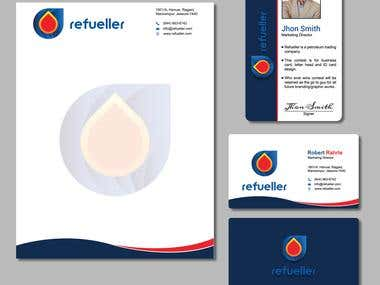 Letterhead, Business Card, Logo & ID Card Design