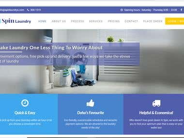 Laundry services multiplatform