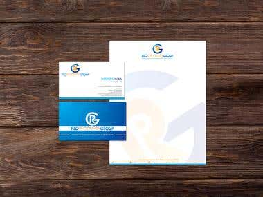 Recovery Company Stationery Design