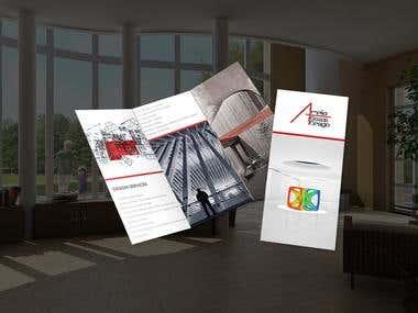 Brochure Design for a Designer