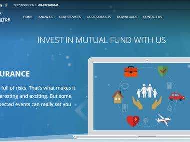 Finance Website