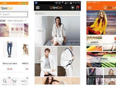 Shopping App(React Native)