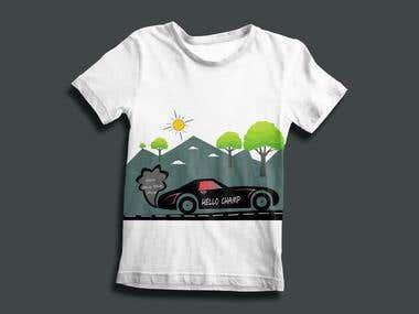 Children T-Shirt Design