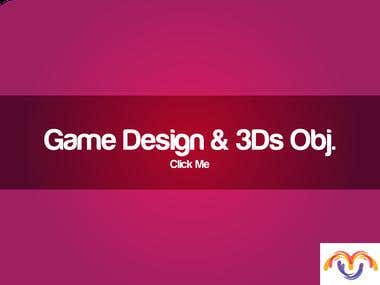 Game design & 3d Objects