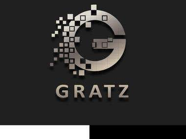GRATAZ Logo Design.