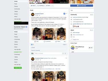 Facebook Page Promotion of a Bengali Movie