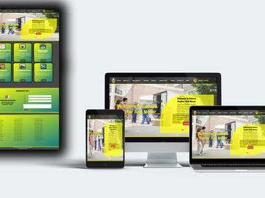 Sahara Mover And Packer responsive Web Site Design