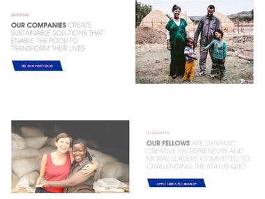 Fully Responsive NGO Website Design