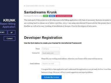 Krunk iBiller Opensource Billing Software Development