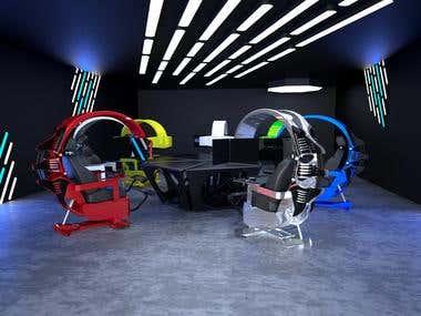 Product Design 3D Modeling 3D Rendering