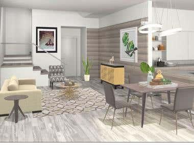 "Interior Designs from ""Home Design"" App"