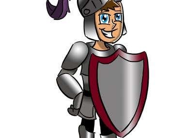 Knight cartoon