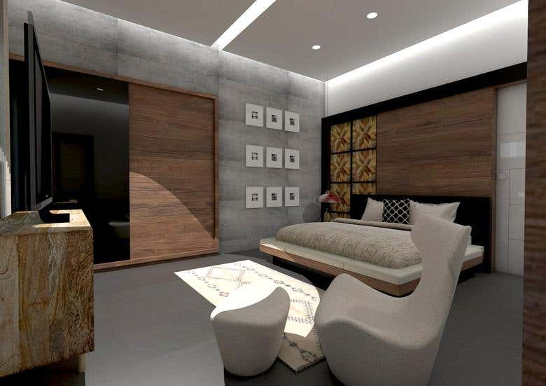 Bedroom Interior Design And Rendering Freelancer