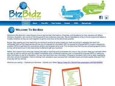 B to B Website