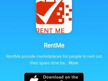RentMe - Android, iOS project