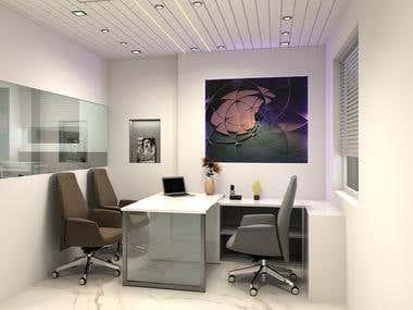 Office Interior_3d Vizualisation