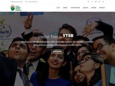 Responsive Landing Page - YTSB